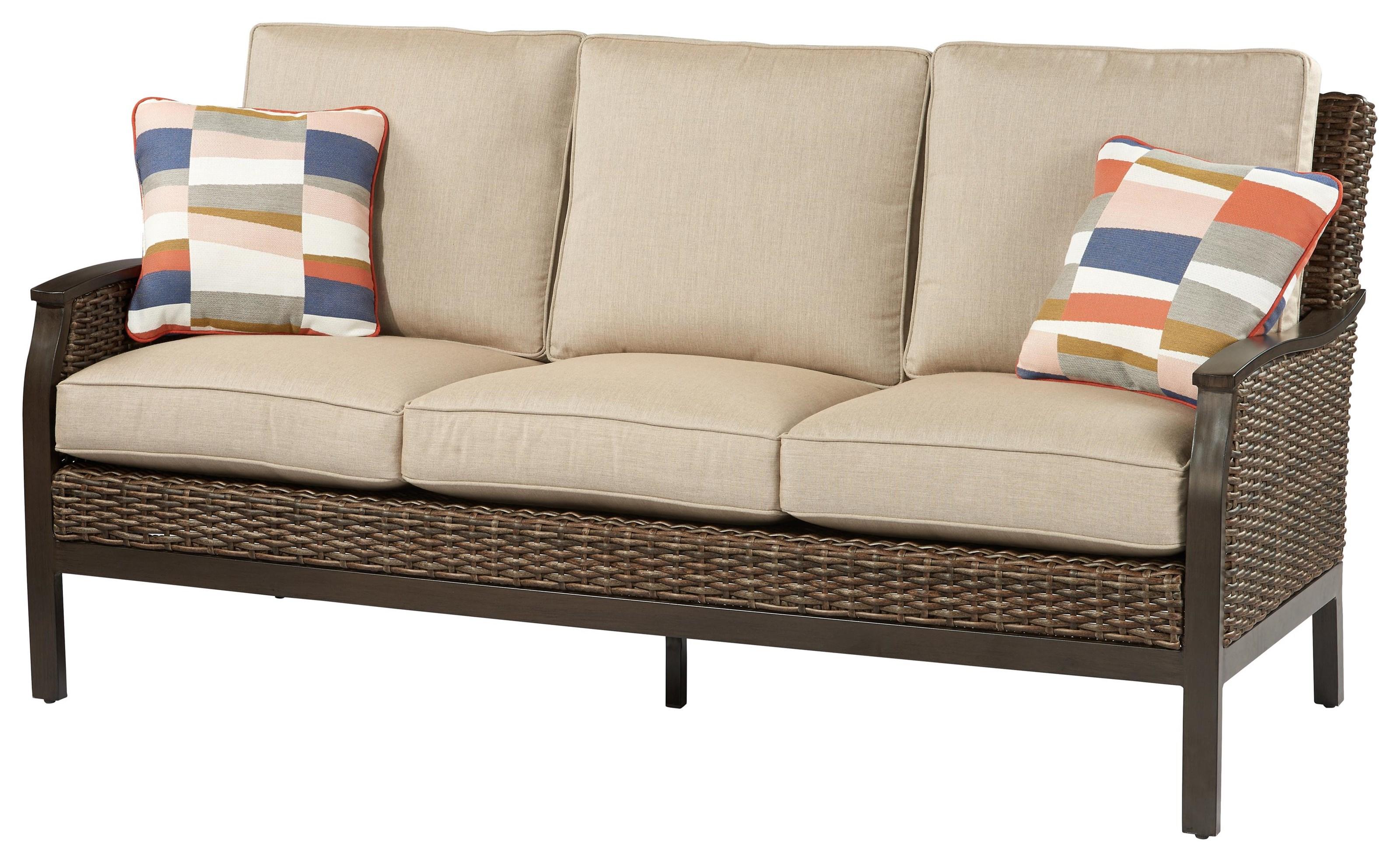 Trenton Sofa by Apricity Outdoor at Johnny Janosik