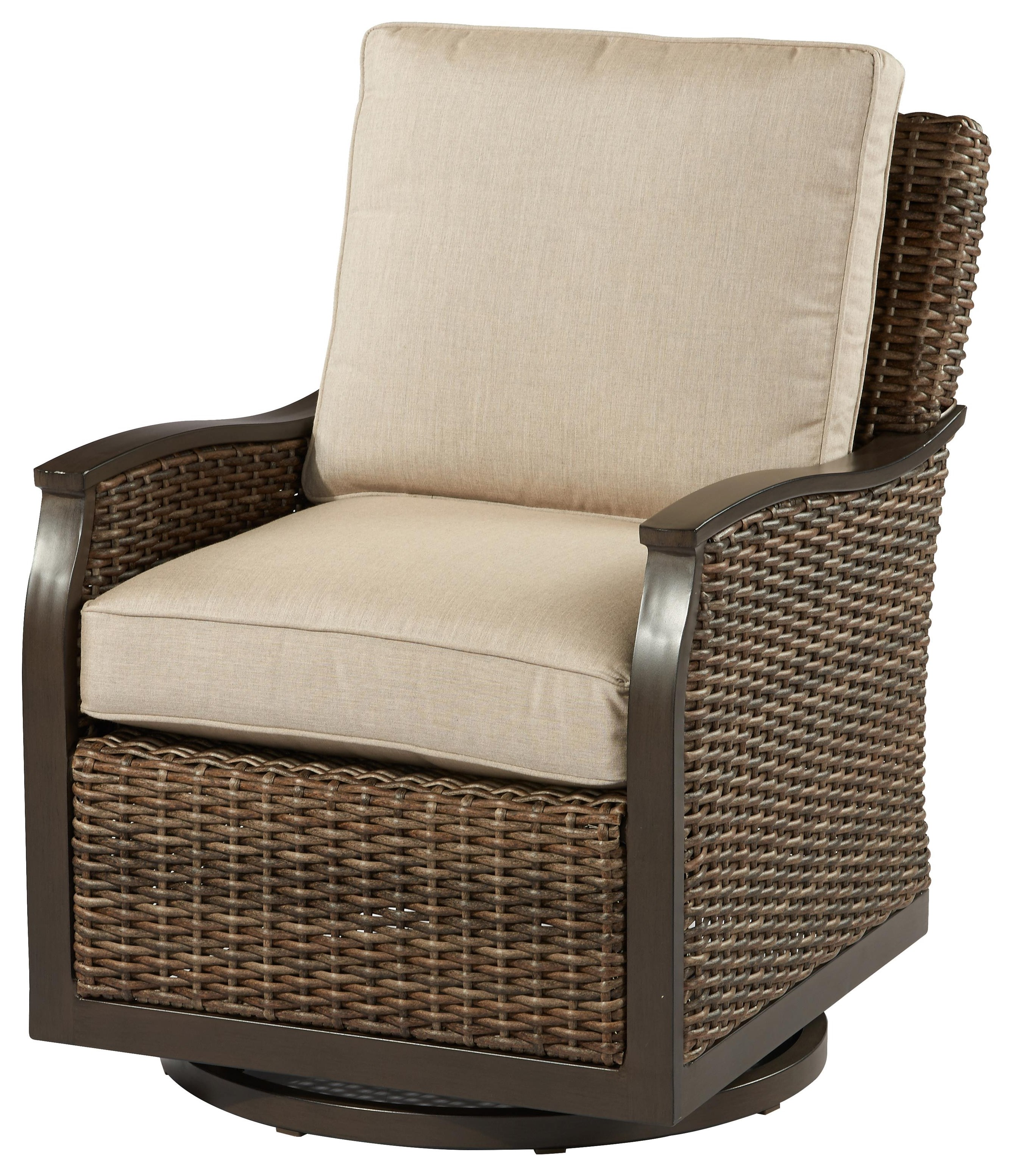 Trenton Swivel Glider by Apricity Outdoor at Johnny Janosik