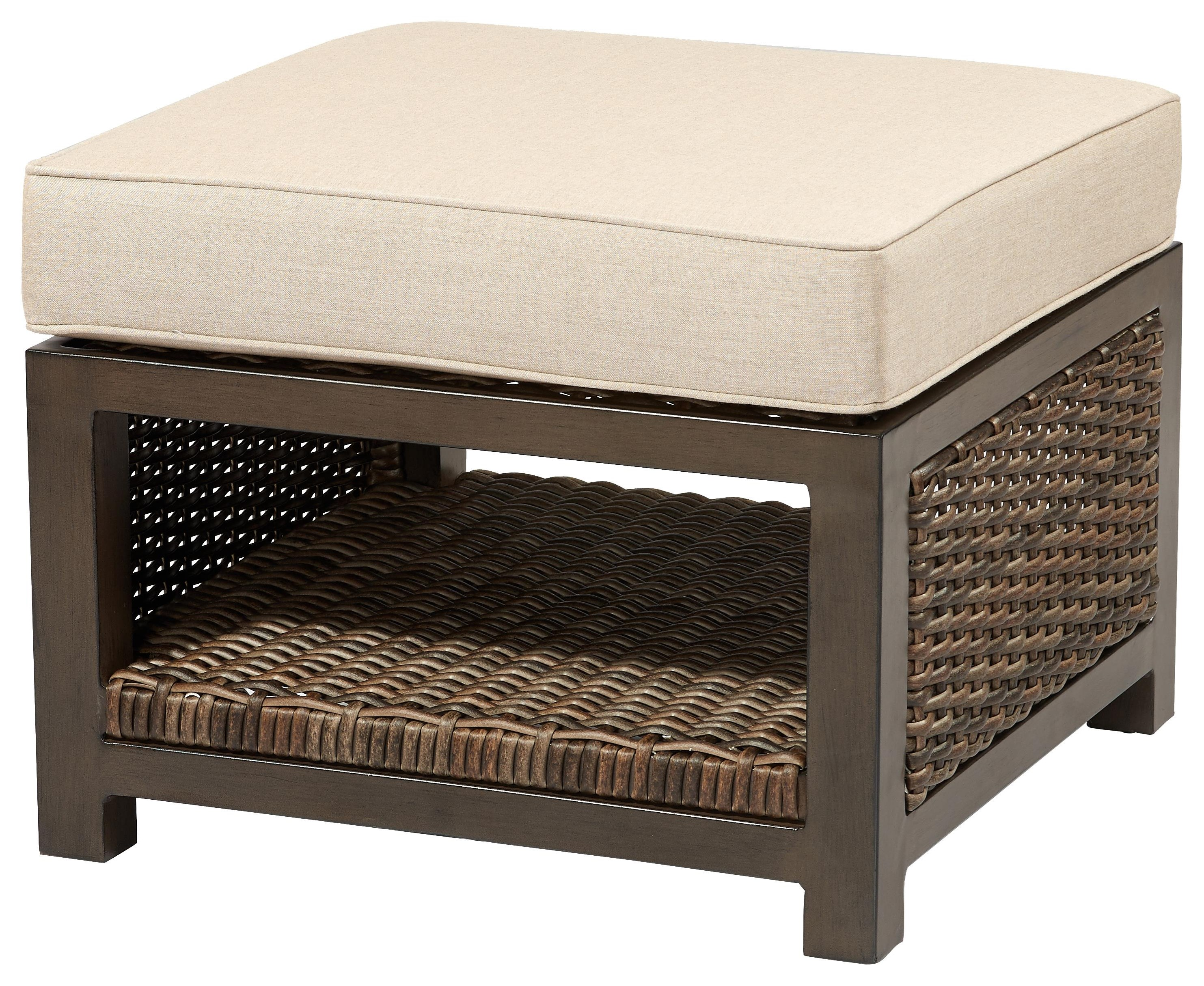 Trenton Ottoman by Apricity Outdoor at Johnny Janosik