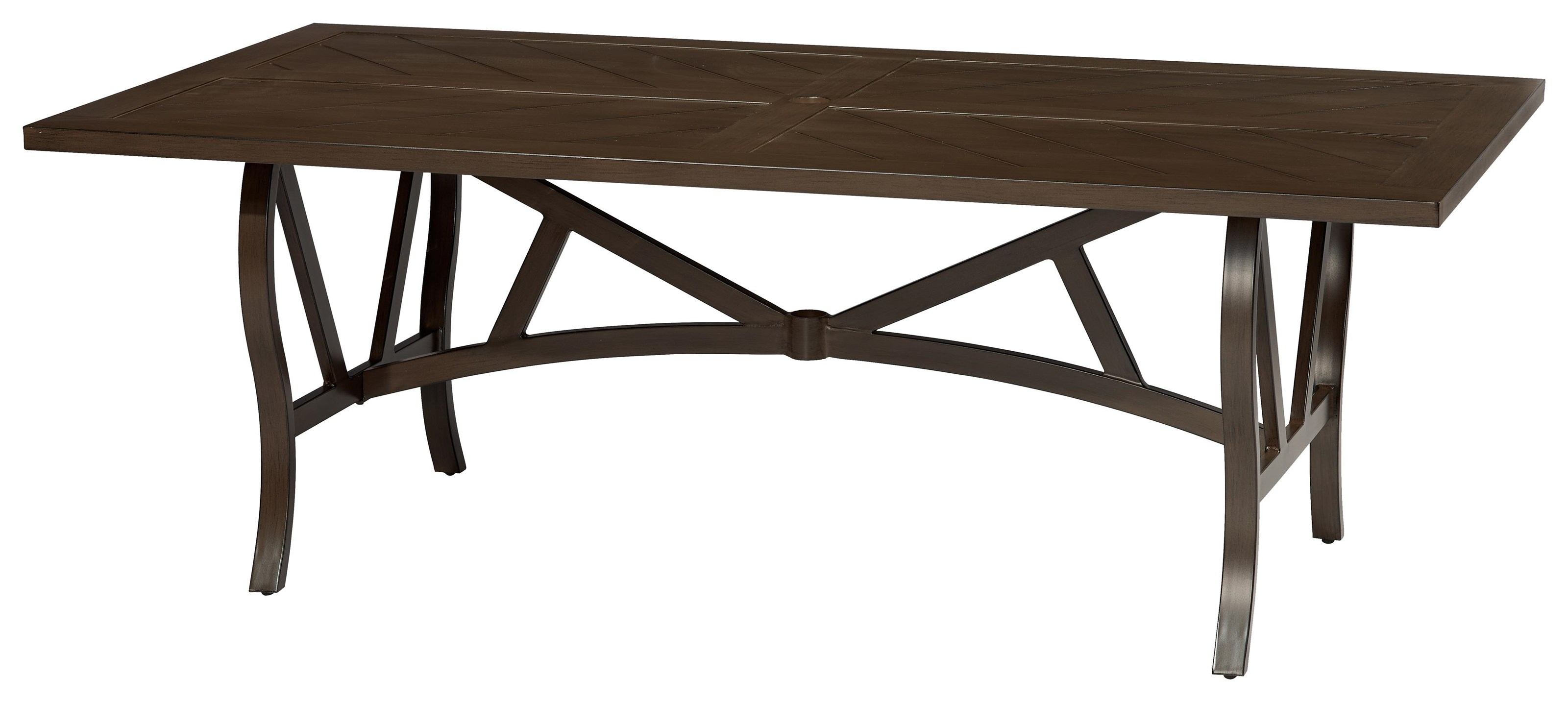 Trenton Rectangular Dining Table by Apricity Outdoor at Johnny Janosik