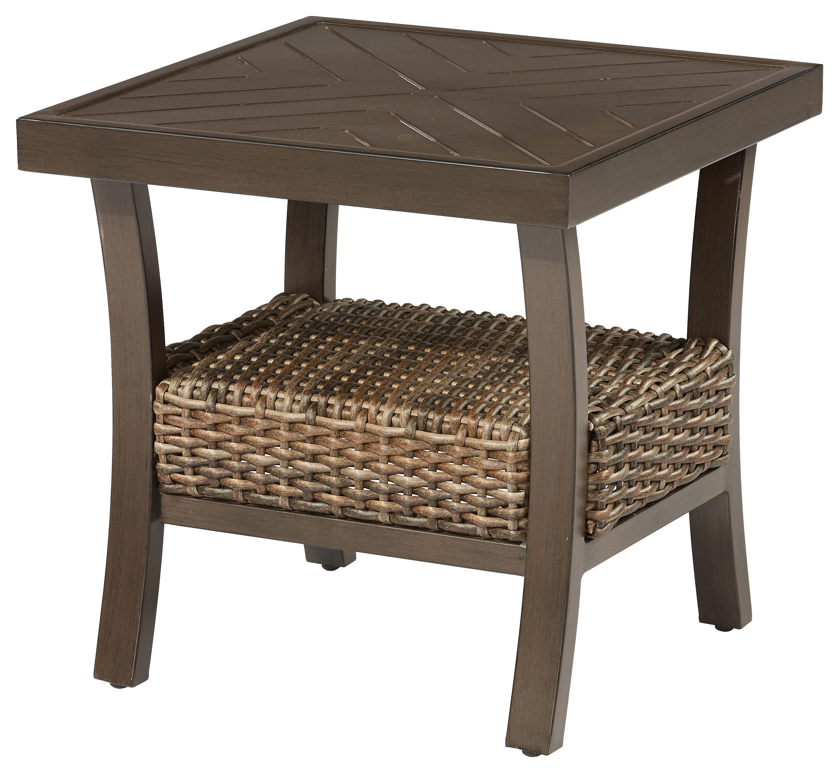 Trenton End Table by Apricity Outdoor at Johnny Janosik