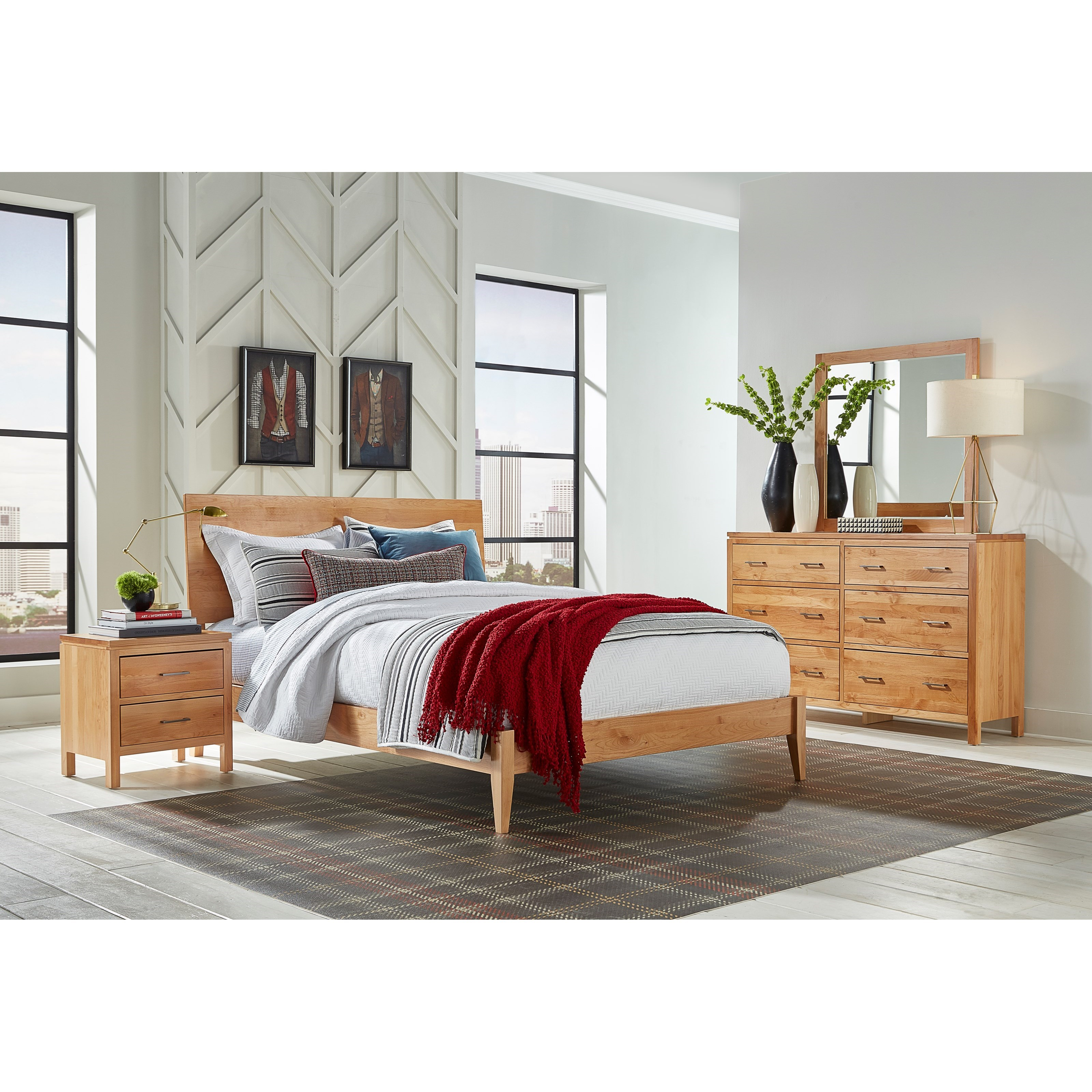 2 West Bedroom Group by Archbold Furniture at Mueller Furniture