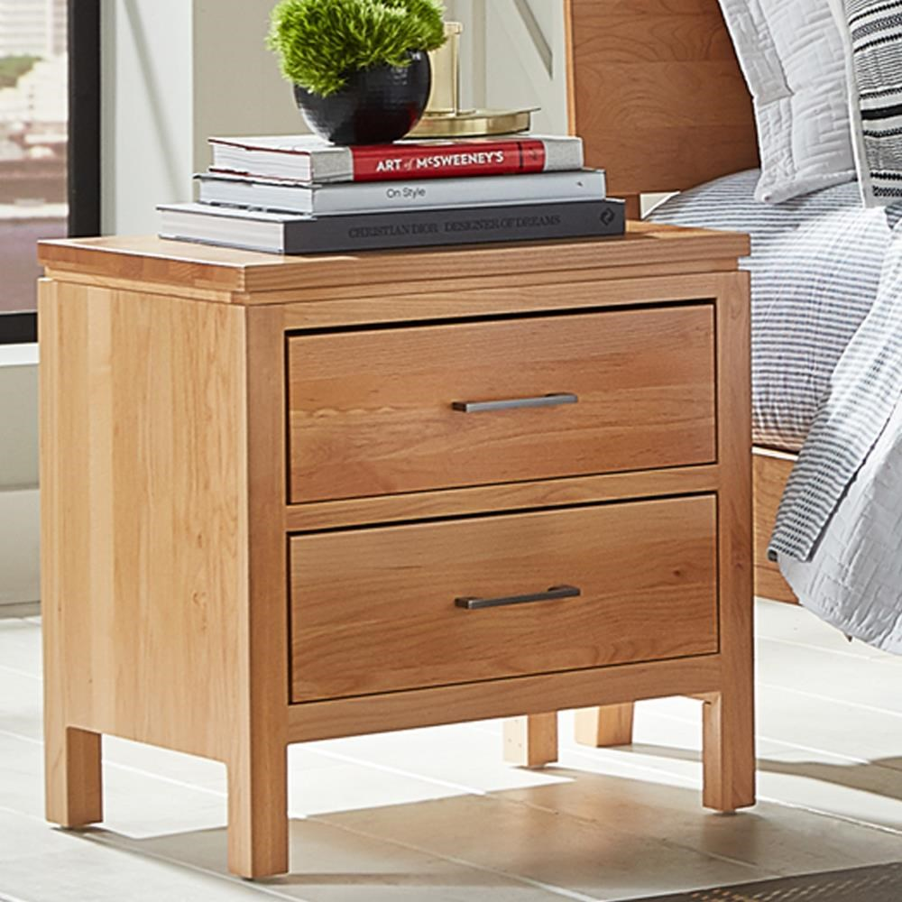 2 West 2-Drawer Nightstand by Archbold Furniture at Belfort Furniture
