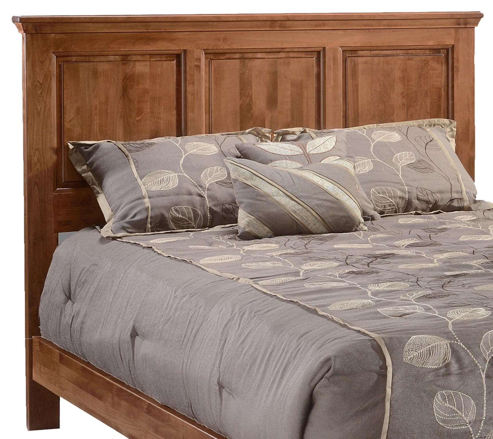 Heritage Twin Panel Headboard Only by Archbold Furniture at Mueller Furniture