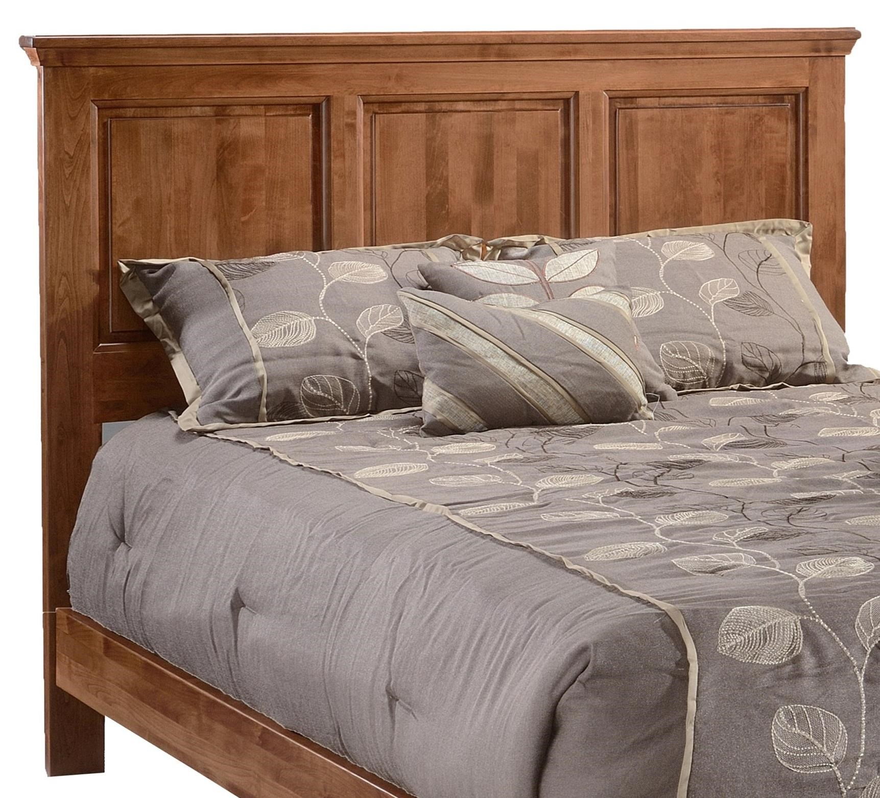 Heritage Queen Panel Headboard Only by Archbold Furniture at Mueller Furniture