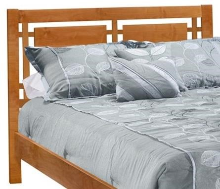2 West Full Open Panel Headboard Only at Sadler's Home Furnishings