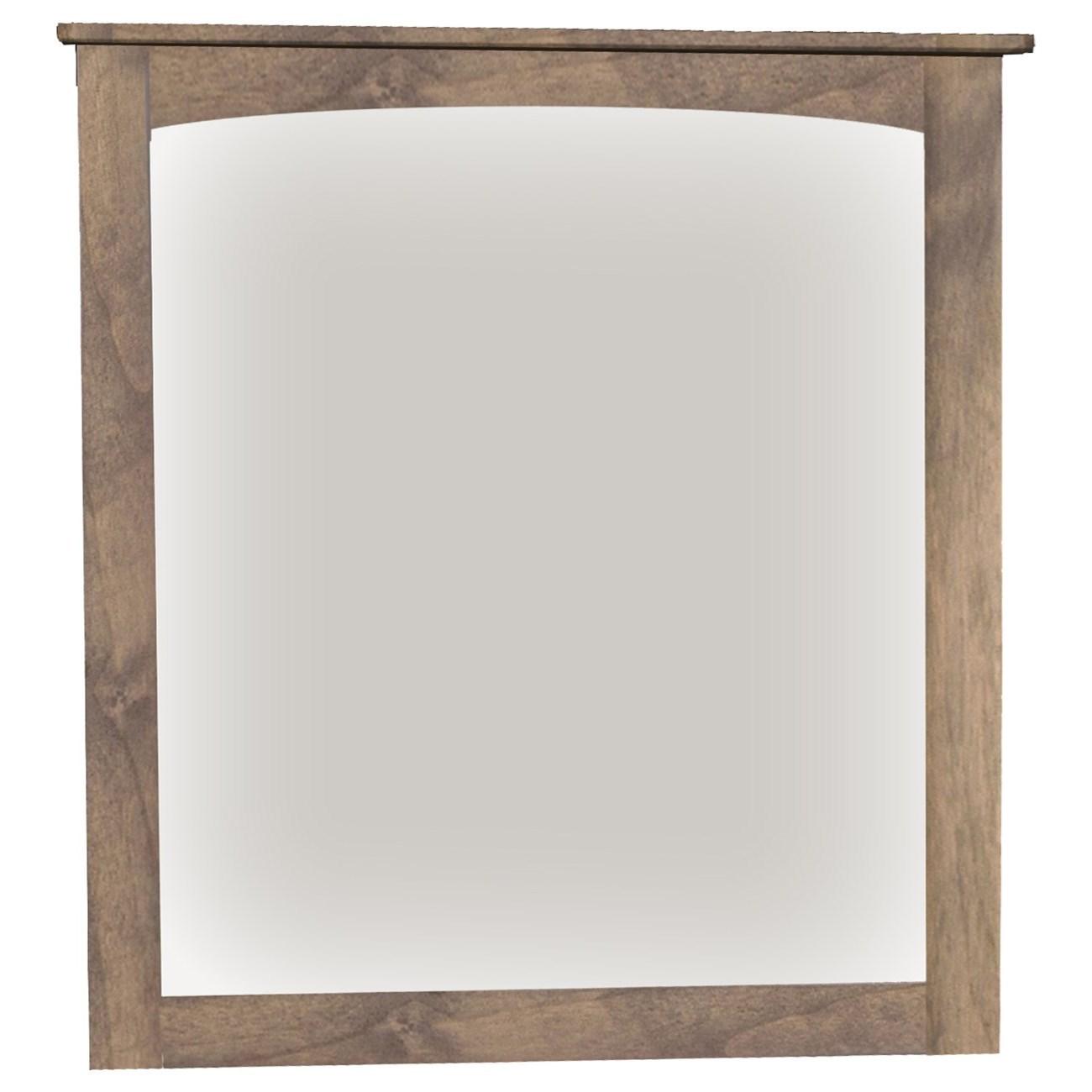 Alder Heritage Mirror by Archbold Furniture at Mueller Furniture