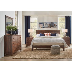 Raised Panel Bed Bedroom Group
