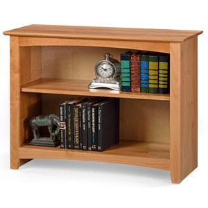 "29"" Tall Open Bookcase with 1 Shelf"