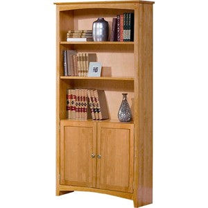 "72"" Tall Bookcase with Doors"