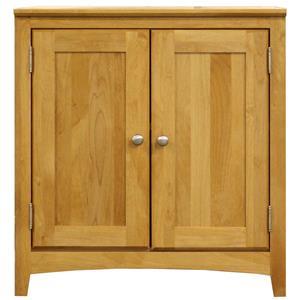 American Made 2 Door Home Office Cabinet