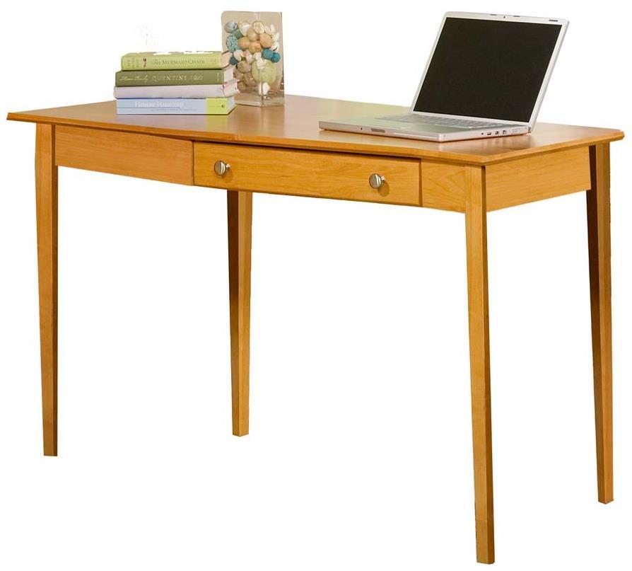 Modular Home Office Left Wedge Desk by Archbold Furniture at Mueller Furniture