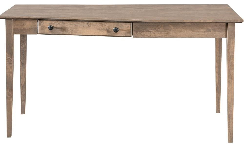 Modular Home Office Right Wedge Desk by Archbold Furniture at Belfort Furniture