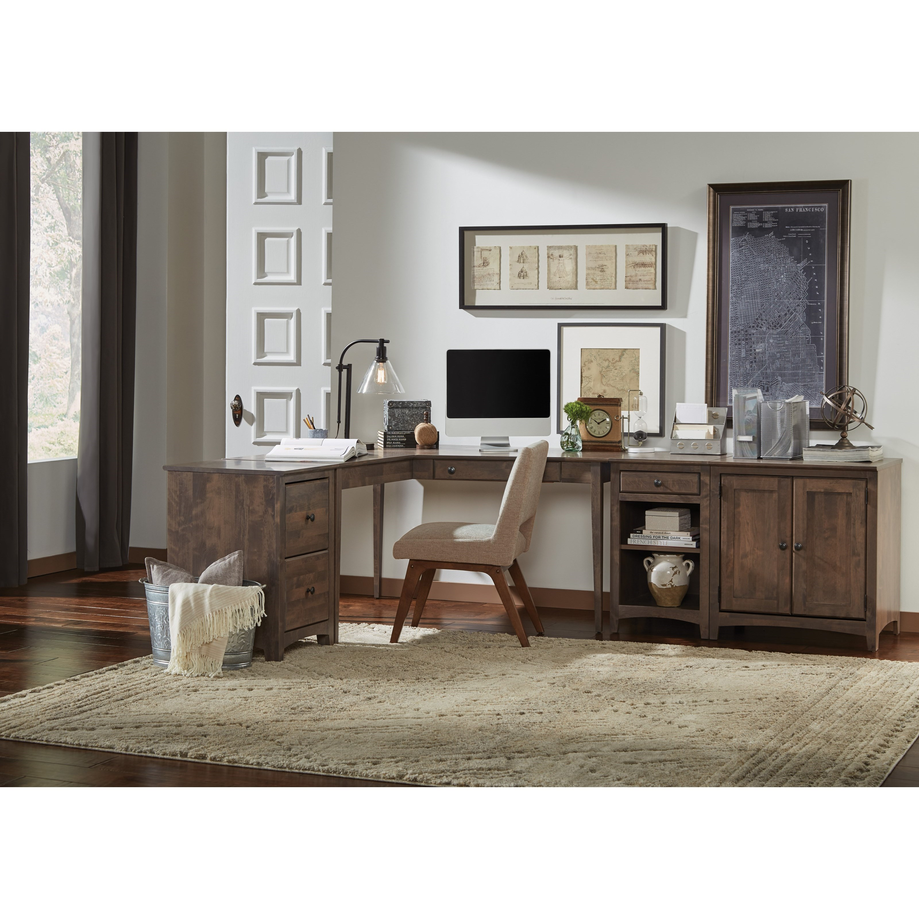 Modular Home Office Modular Home Office Group by Archbold Furniture at Mueller Furniture