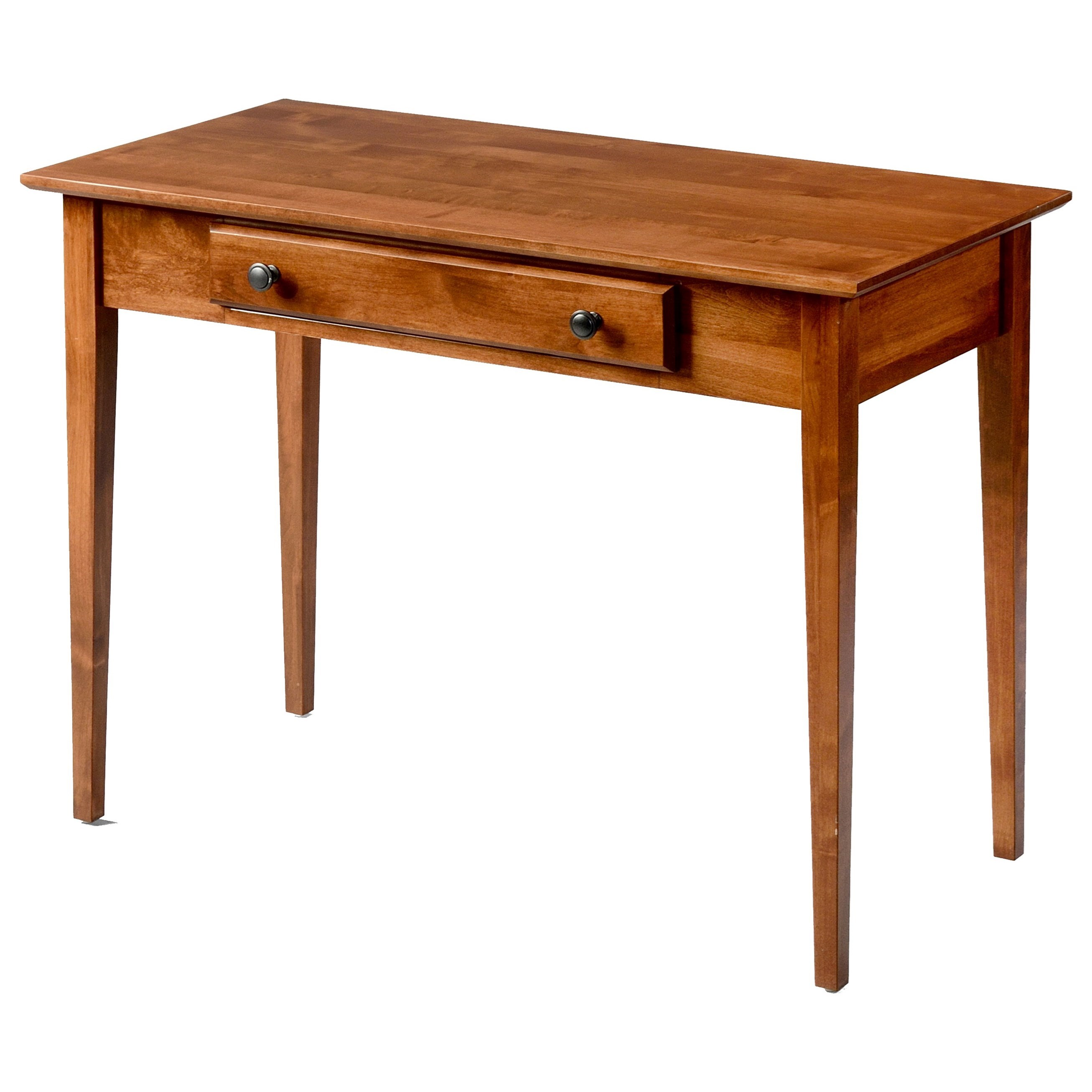Alder Shaker Tables Writing Table by Amish Traditions at Sprintz Furniture