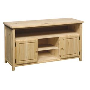 TV/Entertainment Cabinet with 2 Shelves and 2 Doors