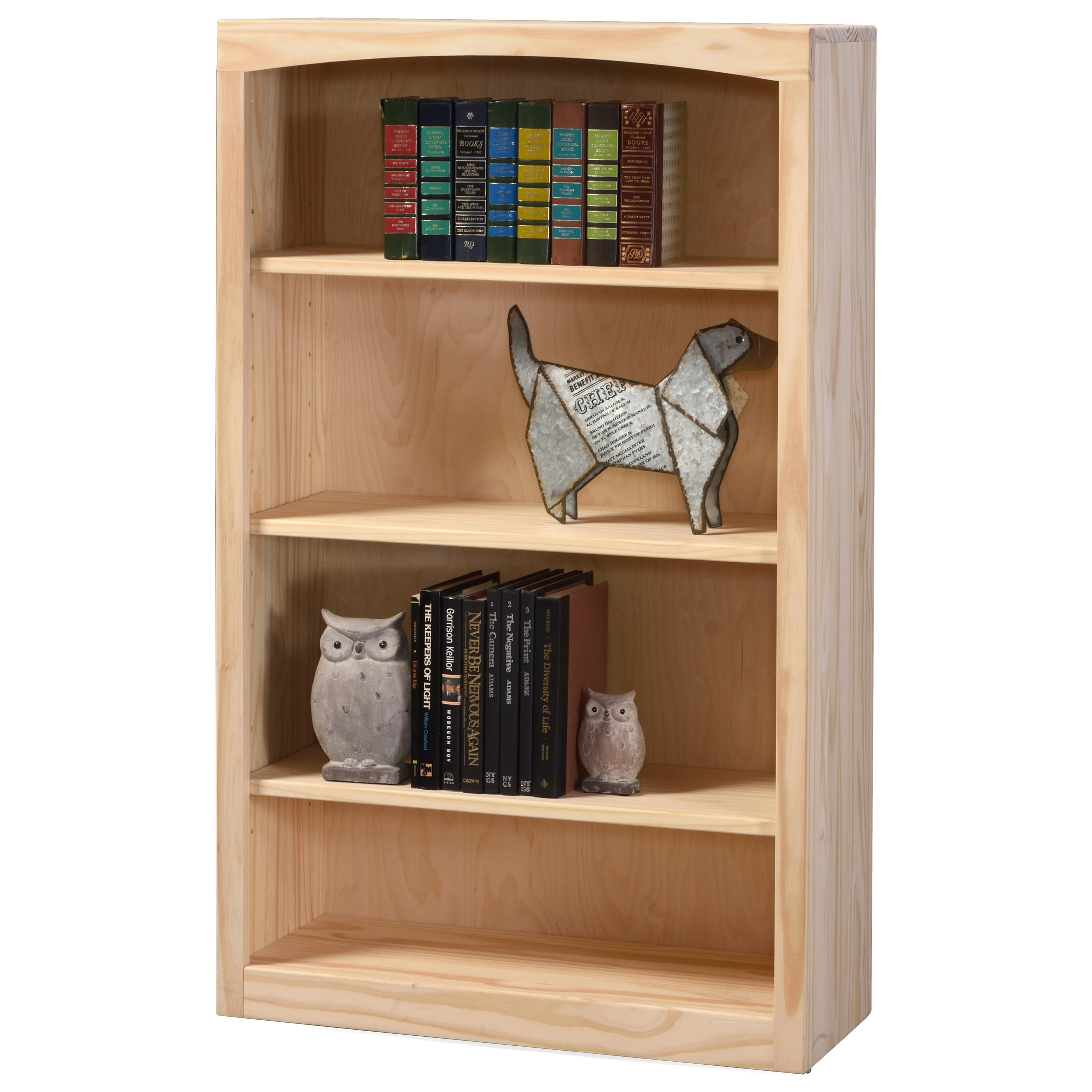 """Pine Bookcases 48"""" Tall Pine Bookcase at Williams & Kay"""