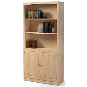 Bookcase 36 X 72 with Door Kit