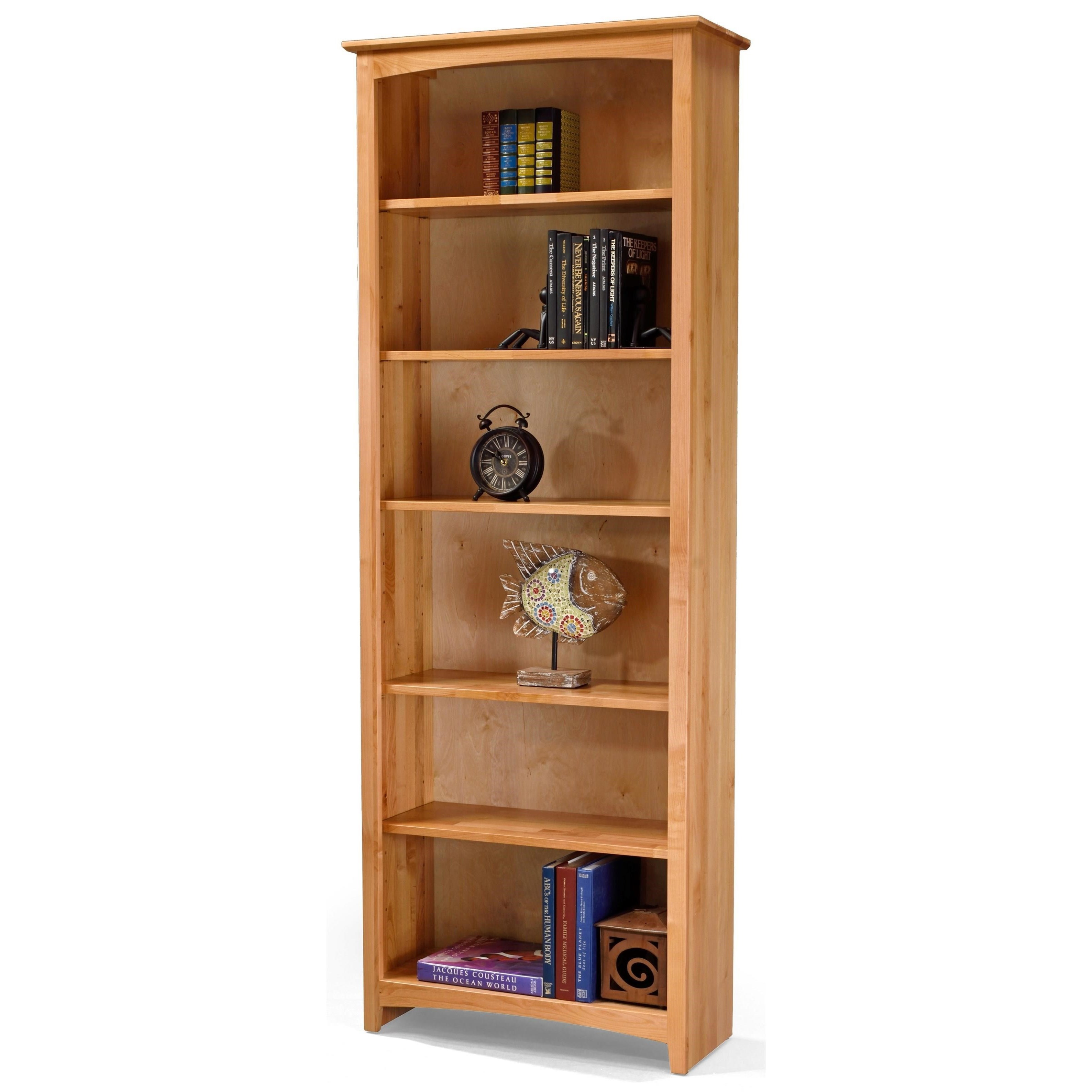 Bookcases Alder Bookcase by Archbold Furniture at Furniture and ApplianceMart
