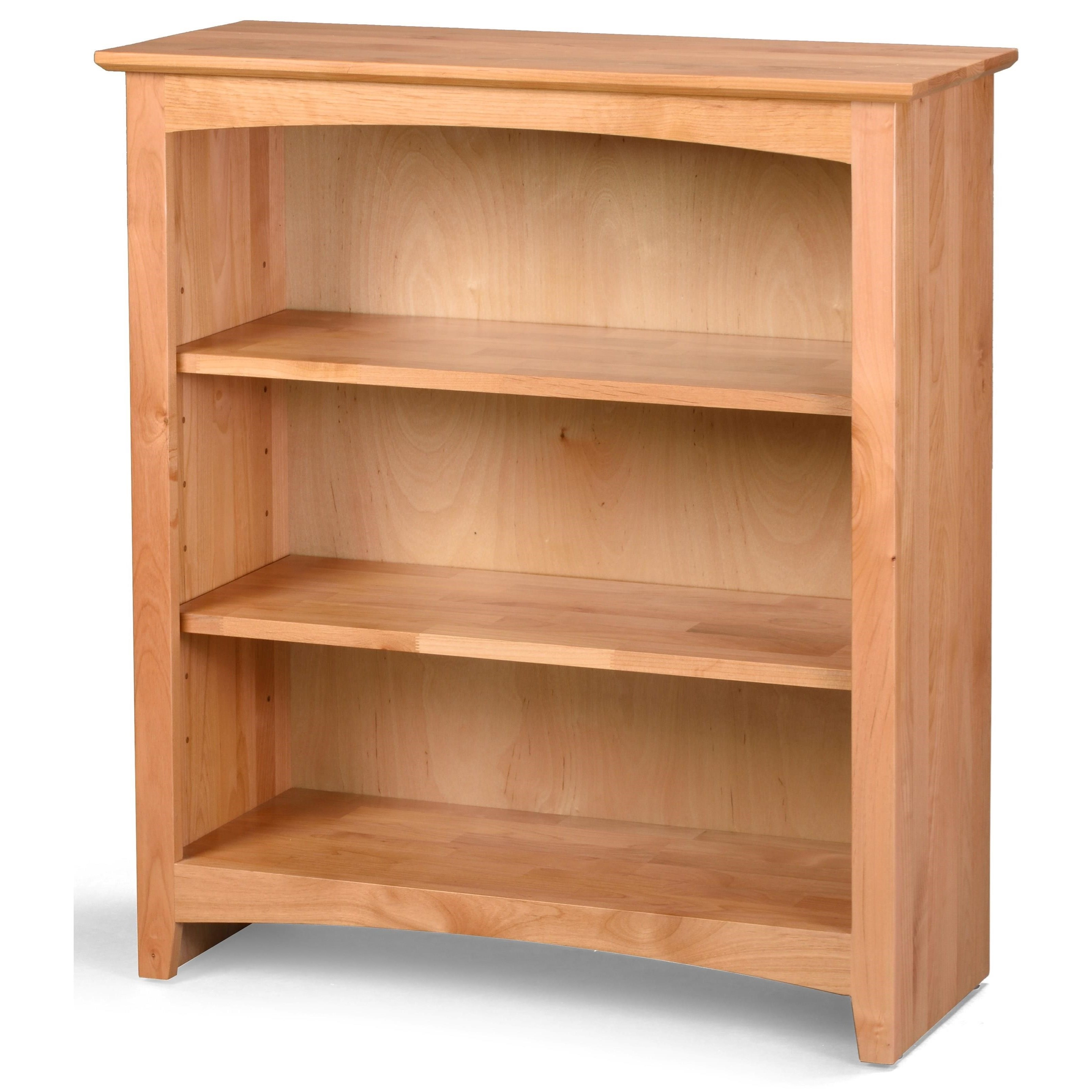 Bookcases Alder Bookcase by Archbold Furniture at Johnny Janosik