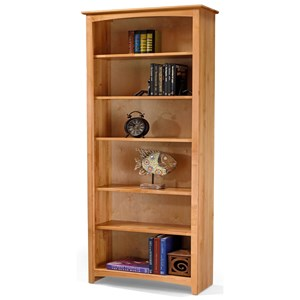 "84"" Tall Bookcase with 5 Shelves"