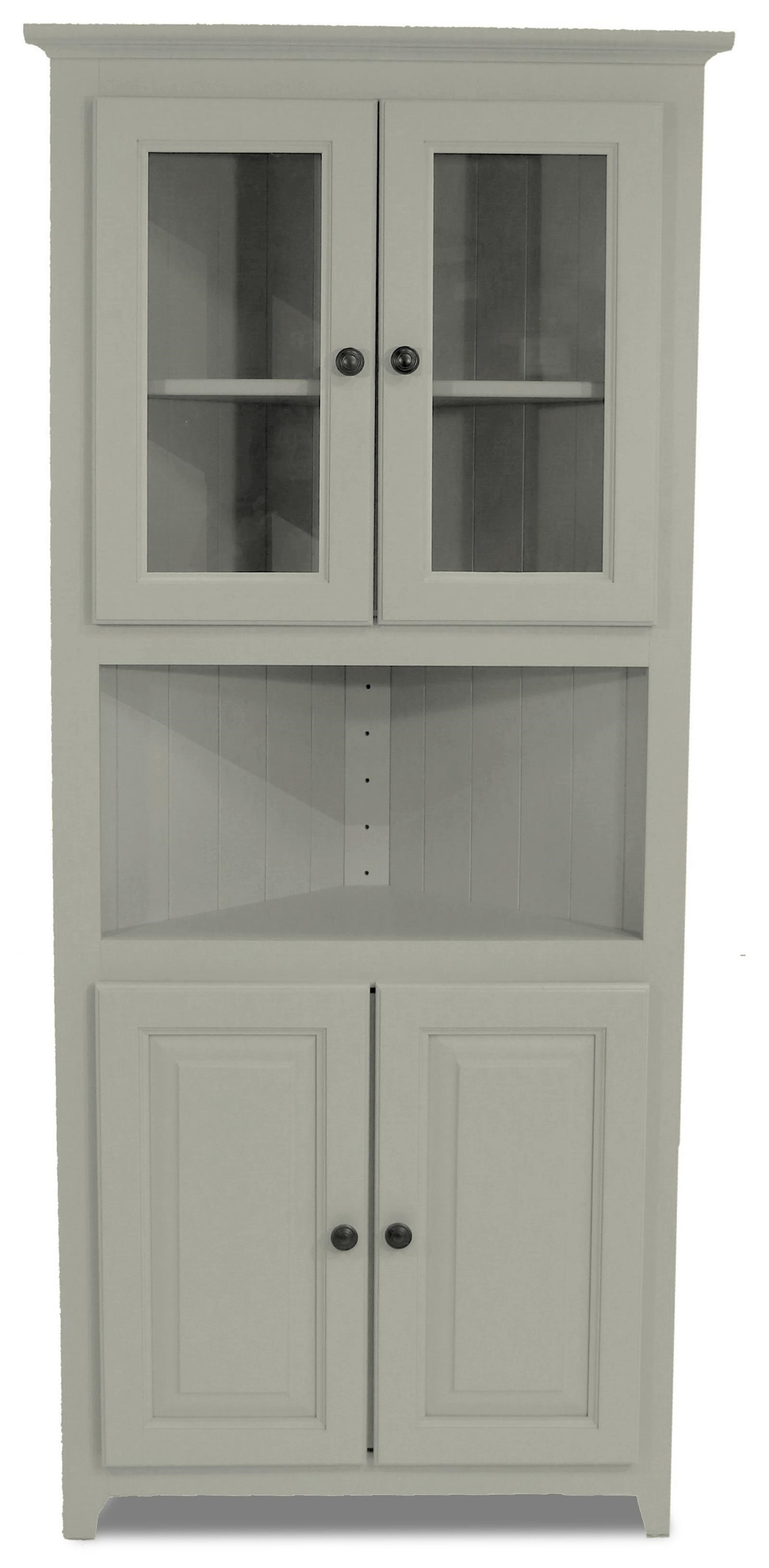Pantries and Cabinets Corner Cabinet by Archbold Furniture at Johnny Janosik