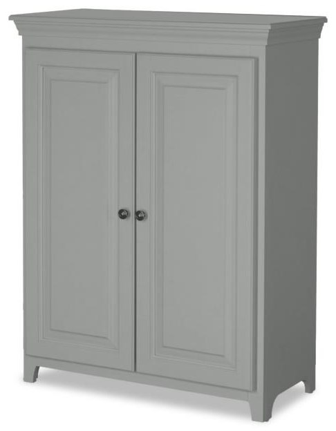 Pantries and Cabinets 2 Door Jelly Cabinet by Archbold Furniture at Johnny Janosik
