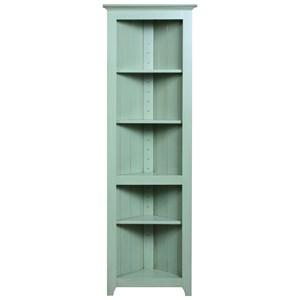 Corner Shelf with 3 Adjustable Shelves