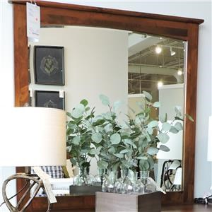 Mirror with Lightly Arched Accent