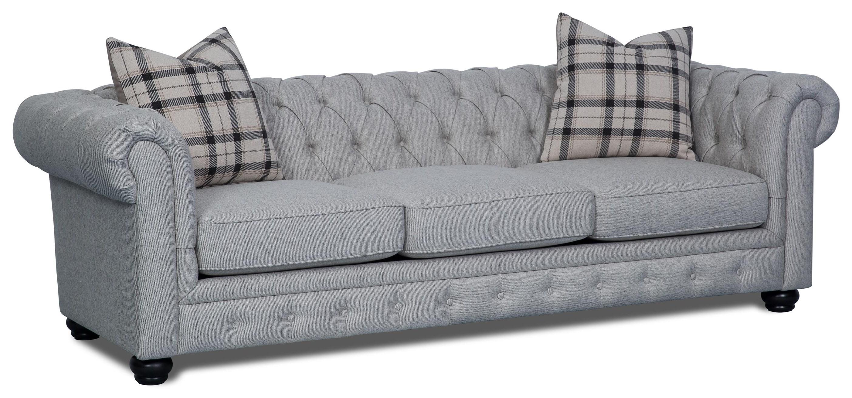 921 Ebony Abbington Sofa by Aria Designs at Stoney Creek Furniture
