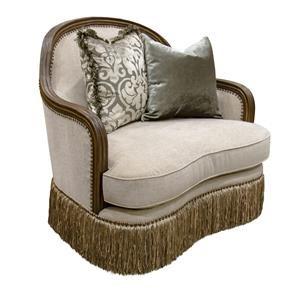Aria Designs Carlotta Parchment Chair