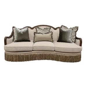 Aria Designs Carlotta Parchment Sofa