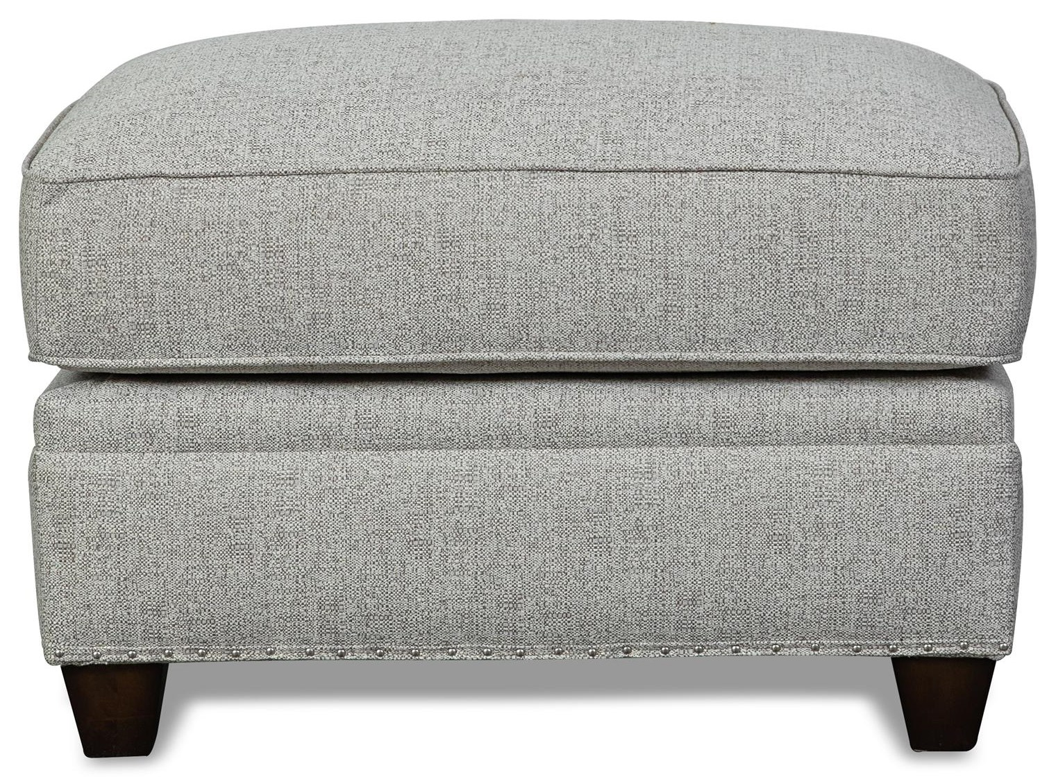 Beaumont Beaumont Ottoman by Aria Designs at Morris Home