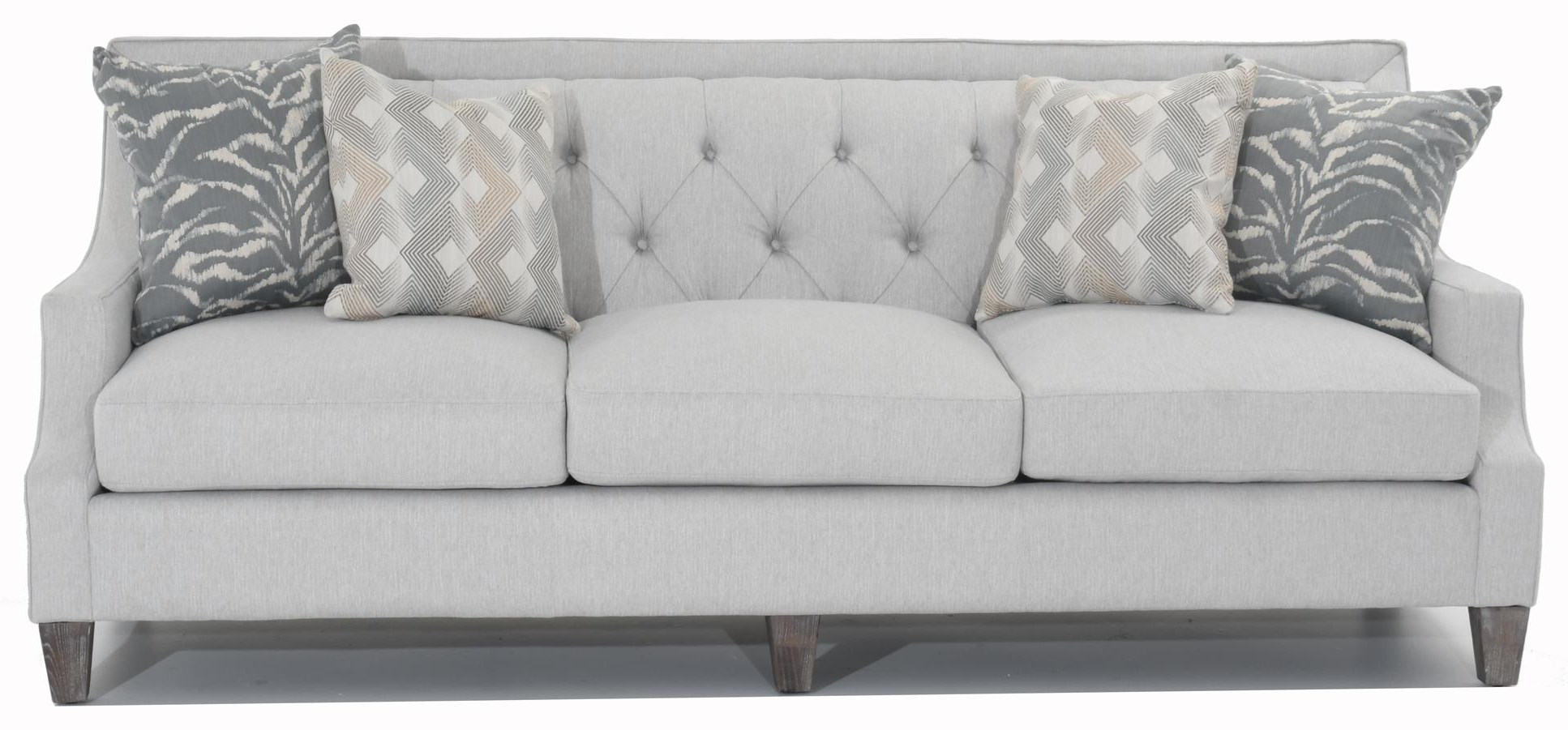 Drew Tufted Sofa by Aria Designs at Baer's Furniture