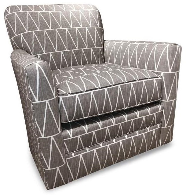 Nyla Nyla Swivel Accent Chair by Aria Designs at Morris Home