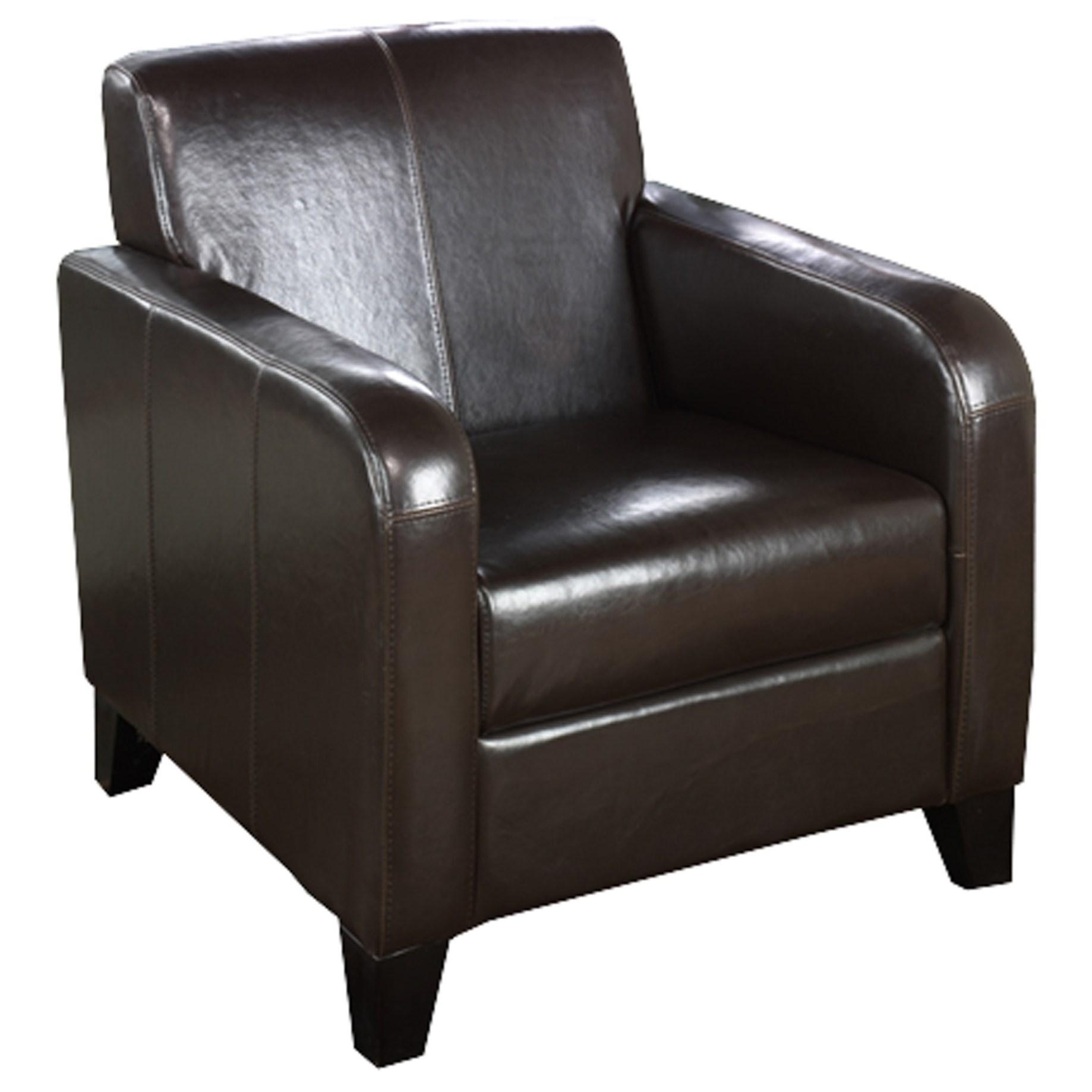 1400 Club Chair by Armen Living at Dream Home Interiors