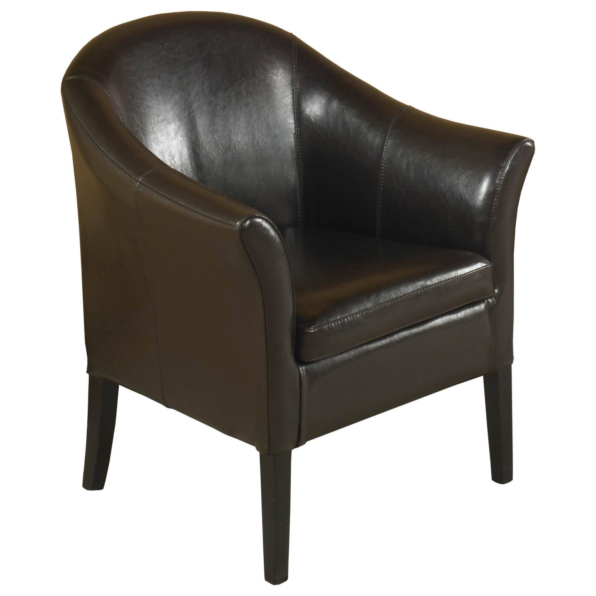 1404 Club Chair by Armen Living at Dream Home Interiors