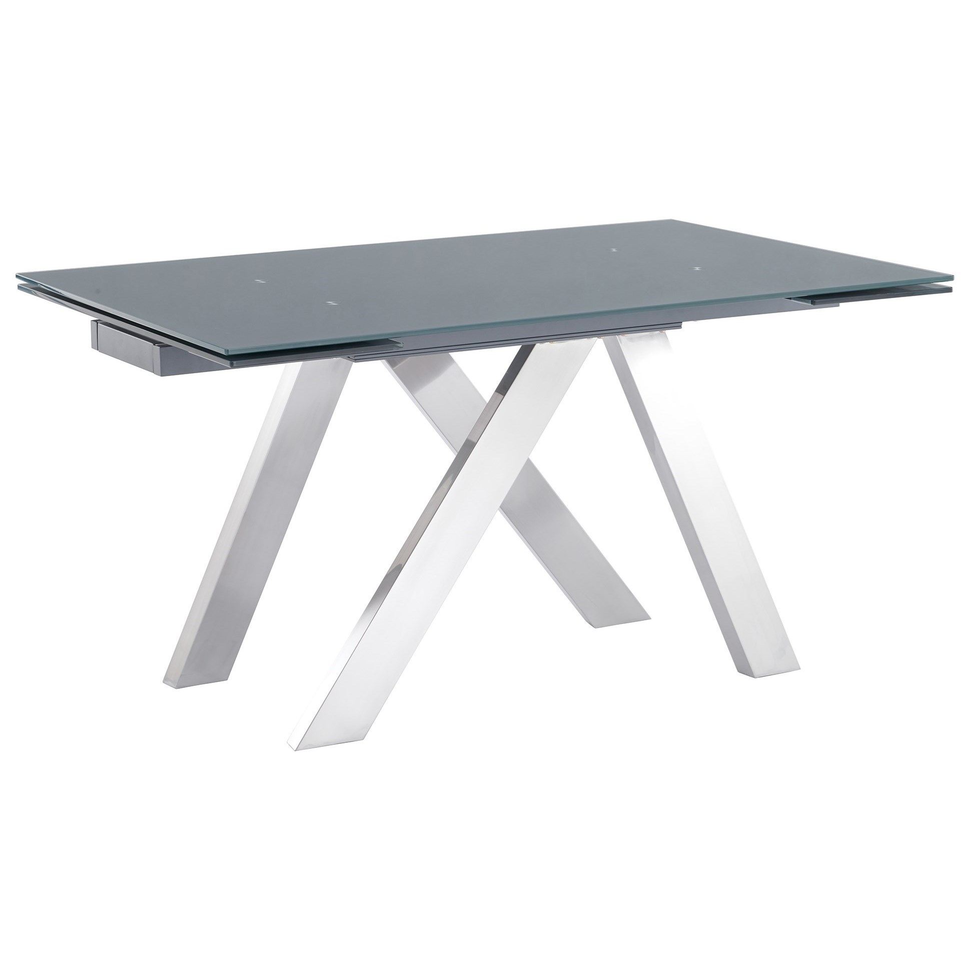 Ace Contemporary Extension Dining Table by Armen Living at Fisher Home Furnishings