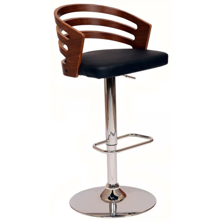 Adele Swivel Barstool by Armen Living at Fisher Home Furnishings