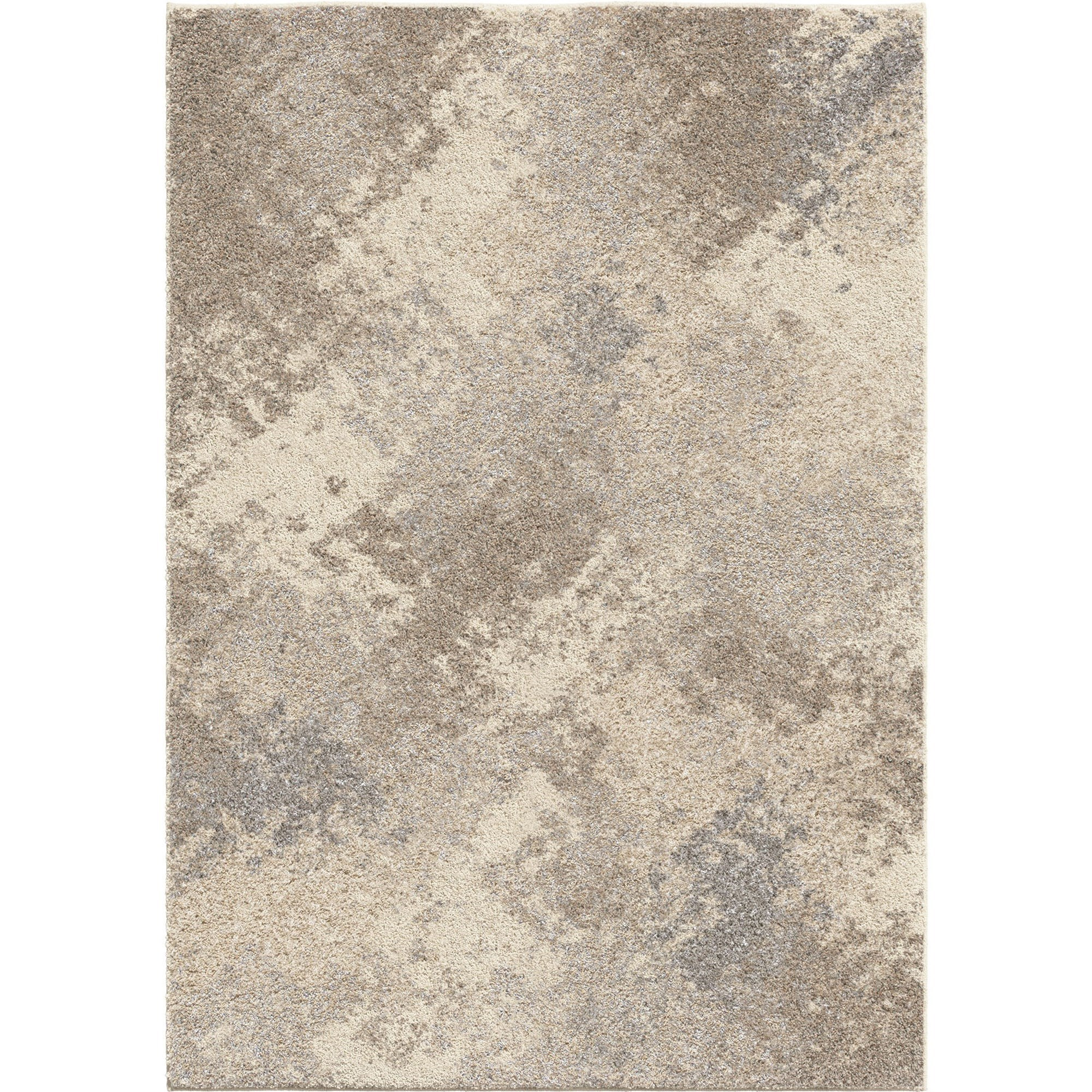 Airhaven Contemporary 8x10 Area Rug in Cream/Grey at Sadler's Home Furnishings