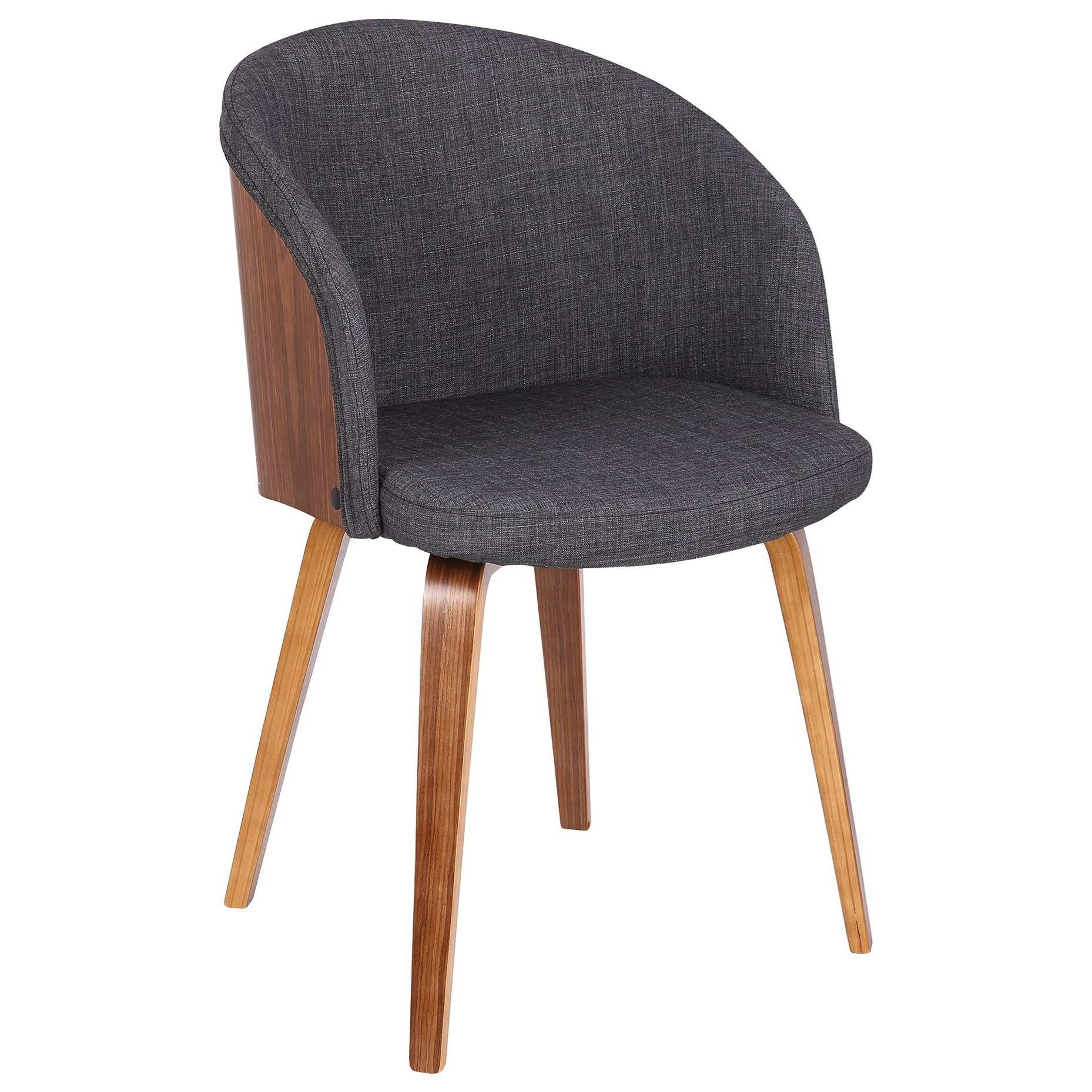 Alpine Side Chair by Armen Living at Fisher Home Furnishings