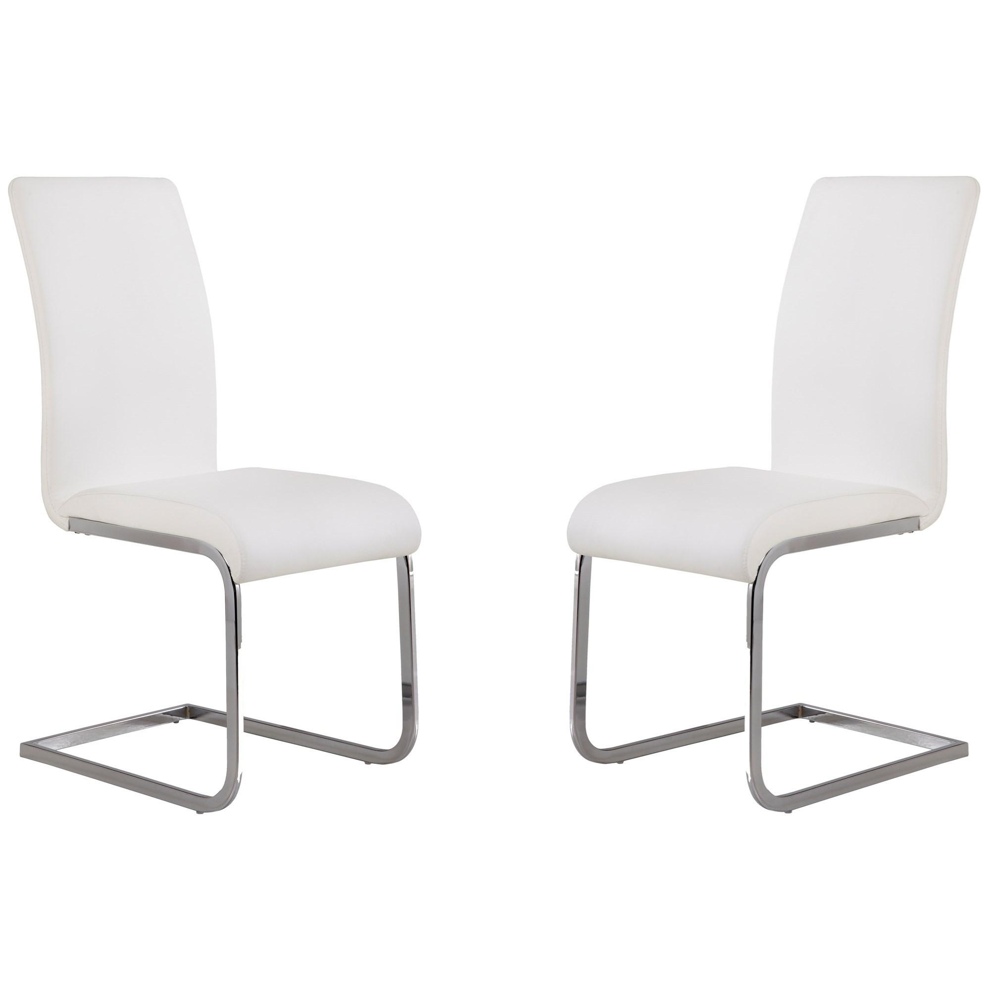 Amanda Side Chair - Set of 2 at Sadler's Home Furnishings