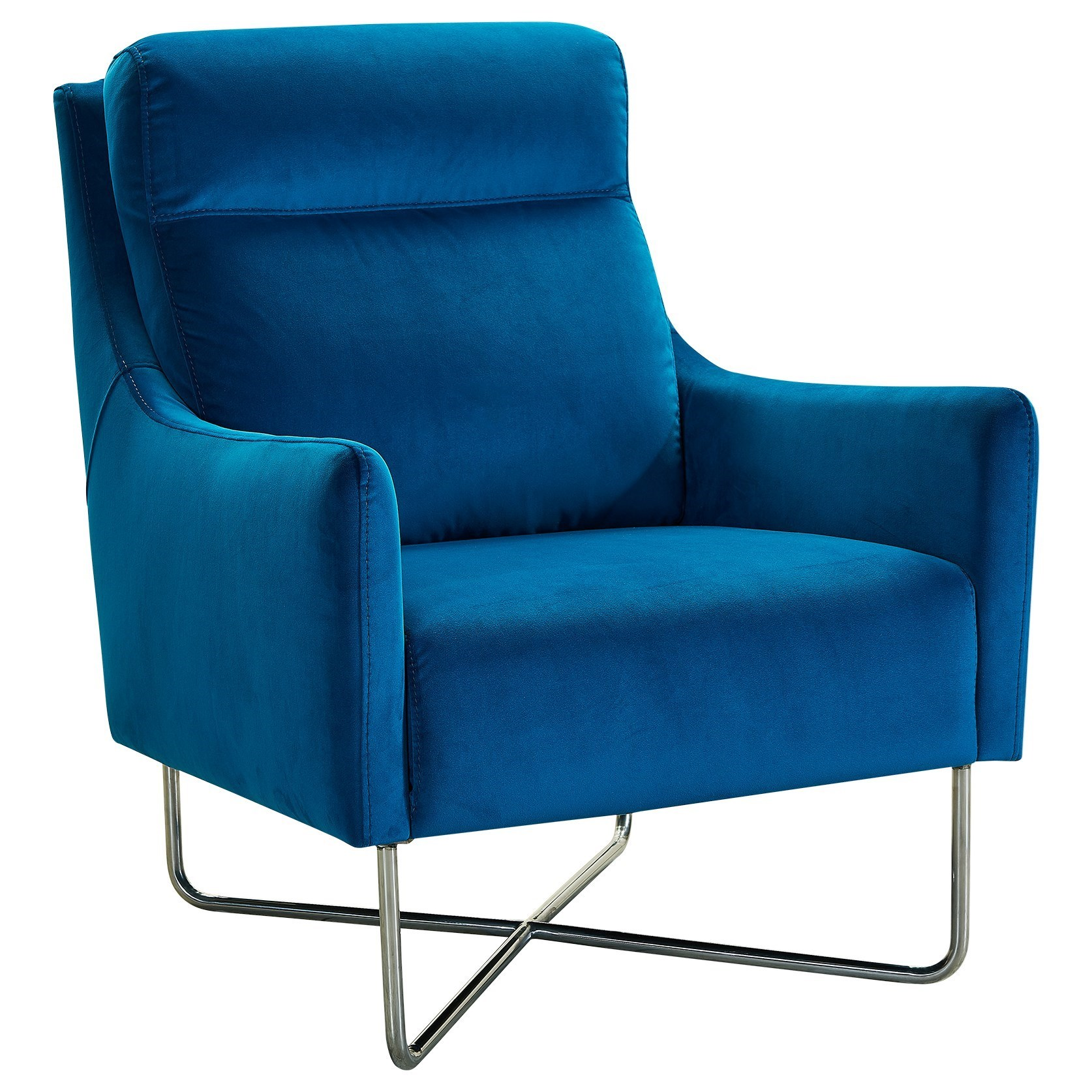Amber Contemporary Accent Chair by Armen Living at Fisher Home Furnishings