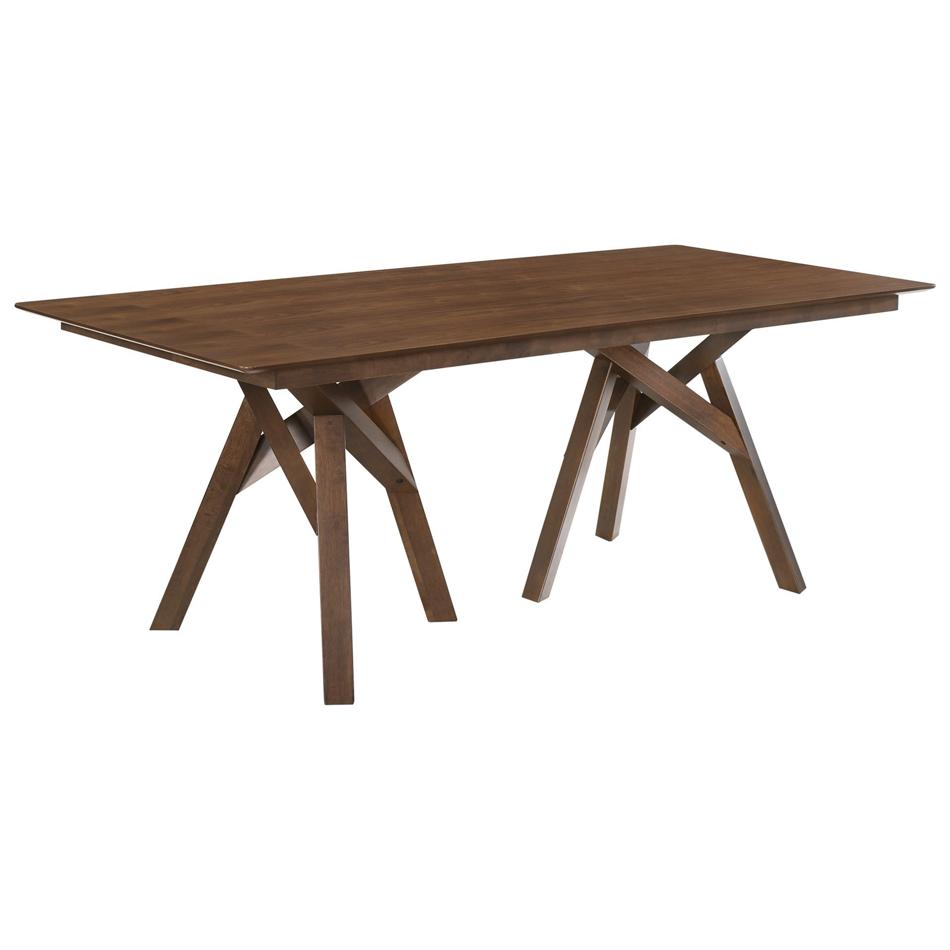 """Cortina 79"""" Mid-Century Modern Wood Dining Table by Armen Living at Michael Alan Furniture & Design"""