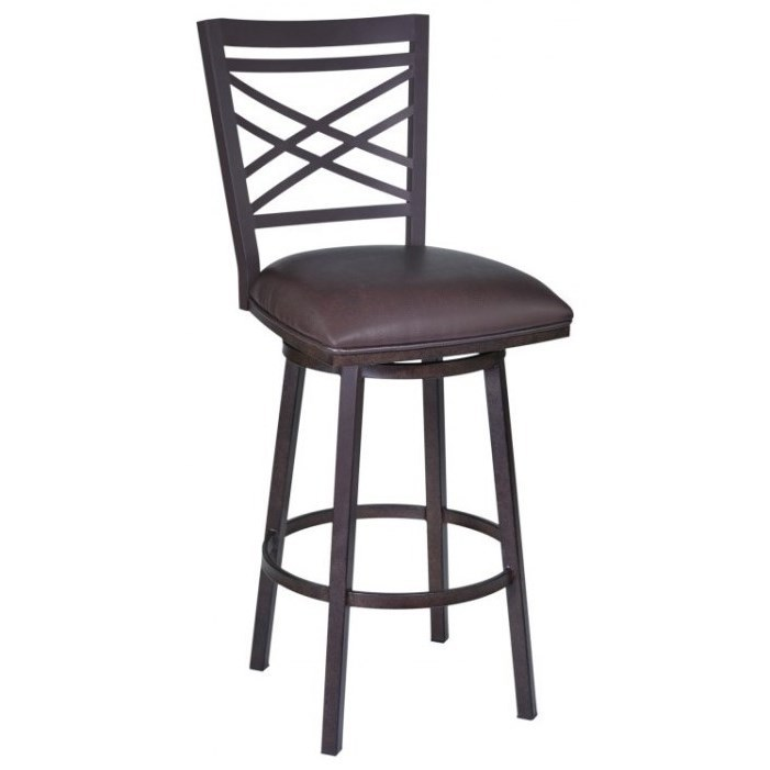 "Fargo 26"" Barstool by Armen Living at Darvin Furniture"