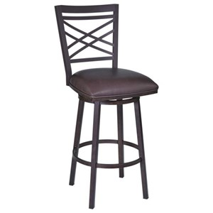 "26"" Barstool with Upholstered Seat"