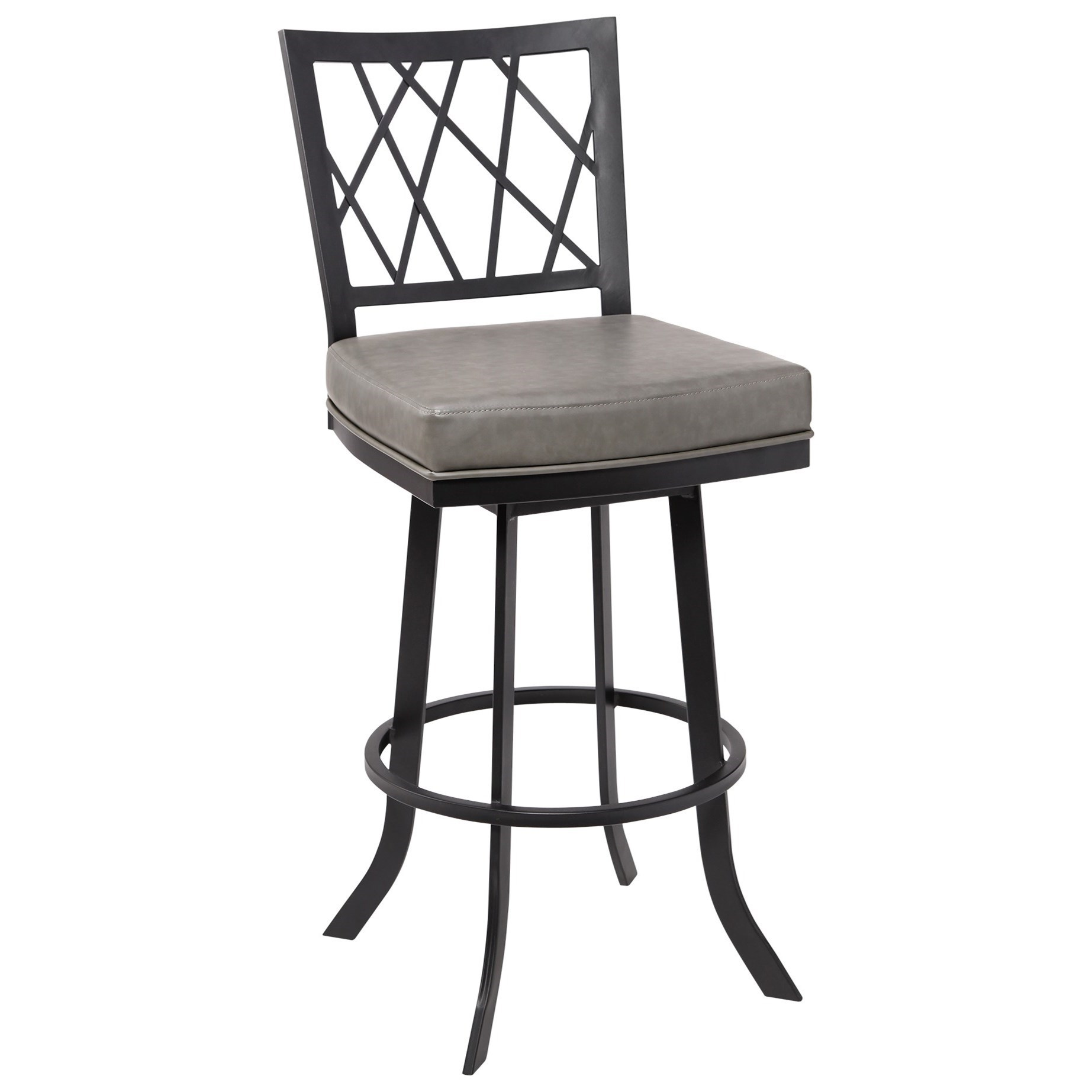 """Giselle Contemporary 26"""" Counter Height Barstool by Armen Living at Dream Home Interiors"""