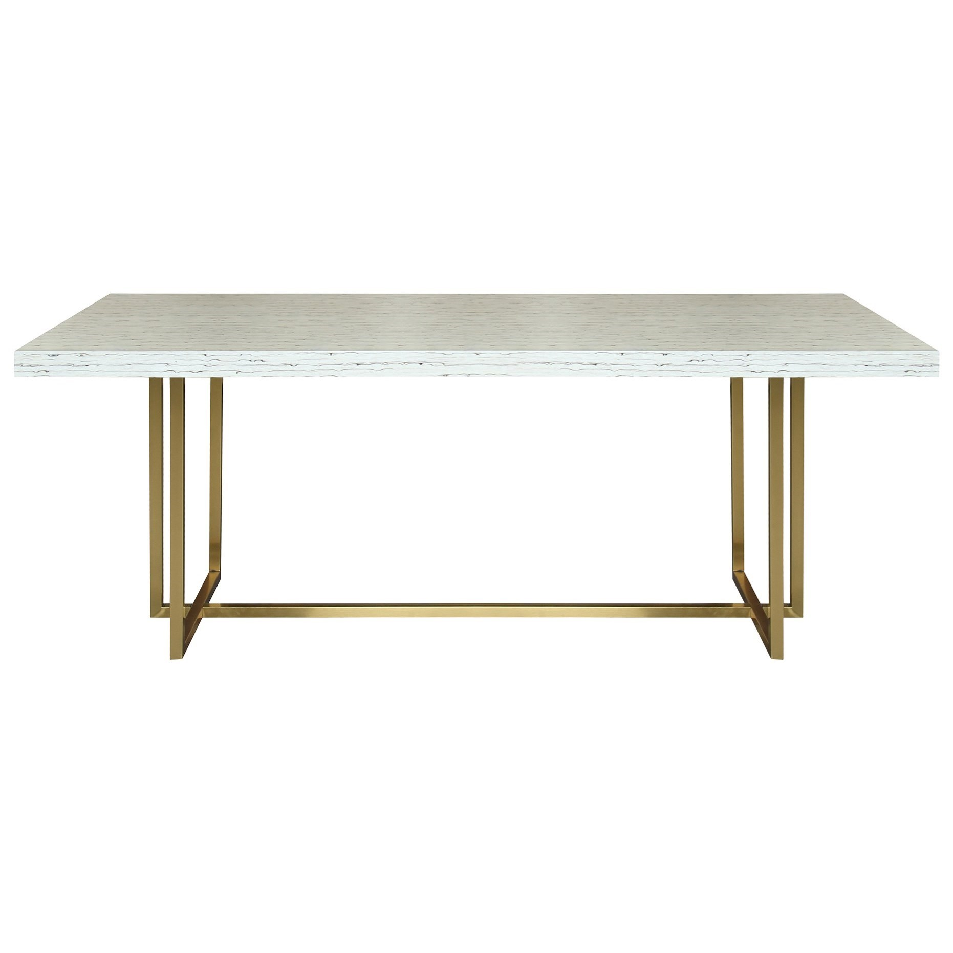 Harmony Contemporary Dining Table by Armen Living at Dream Home Interiors