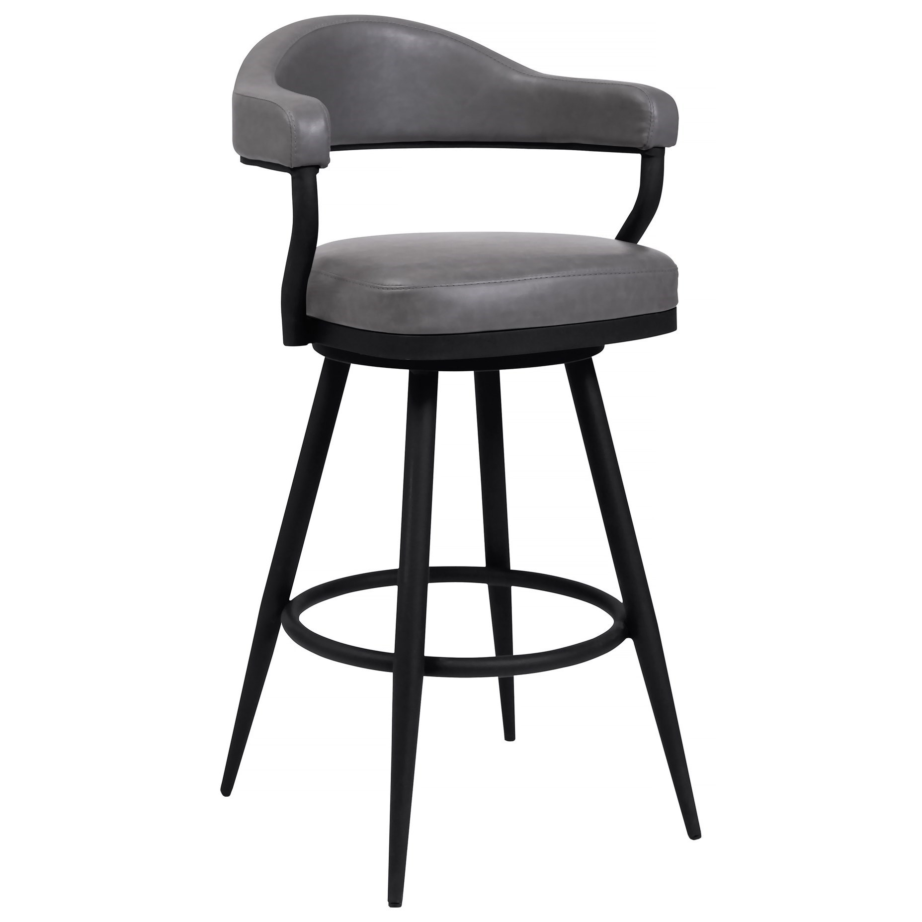 "Justin 26"" Counter Height Barstool at Sadler's Home Furnishings"