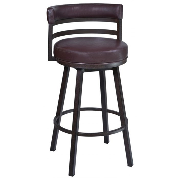 """Madrid 30"""" Barstool by Armen Living at Darvin Furniture"""